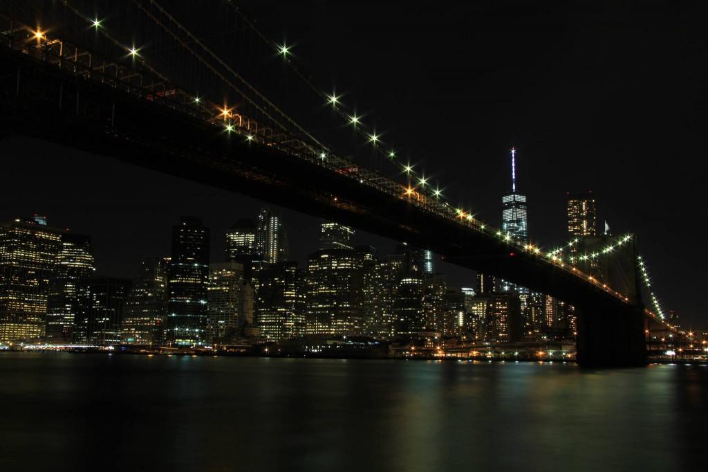 Die Brooklyn-Bridge in New York City. Mein Highlight im September 2014 auf der AIDA-Nordamerika-Tour - Han Si