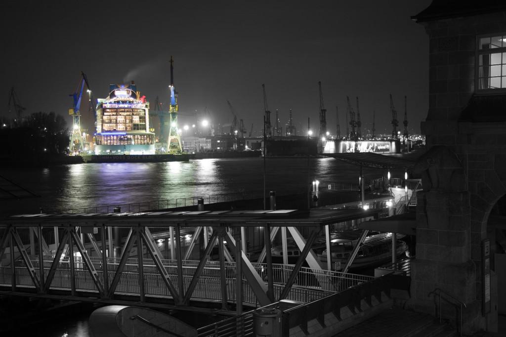 Mein Lieblingsbild habe ich im Oktober aufgenommen, als die Quantum of the Seas bei Blohm & Voss im Dock lag - Florian Kupke