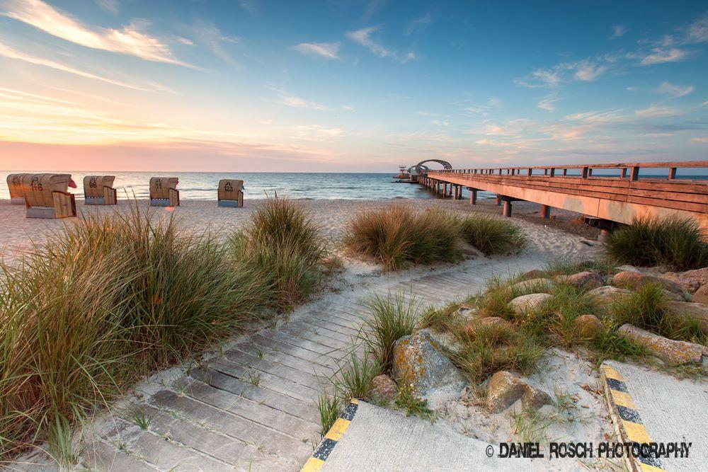 Die Auswahl für mein Bild des Jahres fiel schwer. Ich habe jetzt dieses Bild von der Seebrücke Kellenhusen am Morgen gewählt - Daniel Rosch